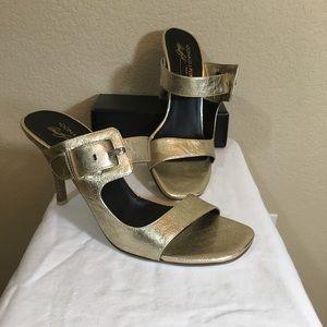 Donald J Pilsner Gold Heels